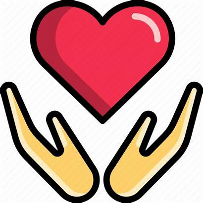 Hug Icon Embrace Heart Valentine Icons 512px