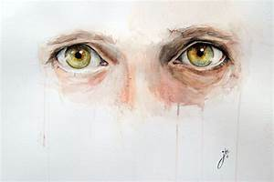 Alluring Watercolor Paintings Prove that Eyes are Windows ...