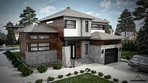 image de maison moderne modle de maison madura moderne With photos de maison moderne
