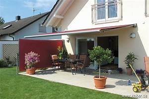 Dielenbretter Für Terrasse : ausziehbare seitenmarkise f r balkon und terrasse ~ Michelbontemps.com Haus und Dekorationen