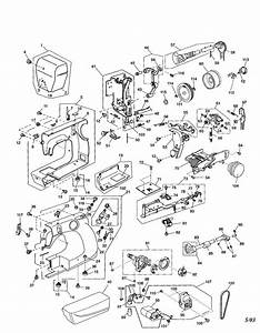 Kenmore Sewing Machine Model 38511206300 Sewing Machine