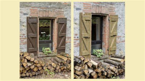 vieux volets en bois r 233 nover et lasurer de vieux volets en bois