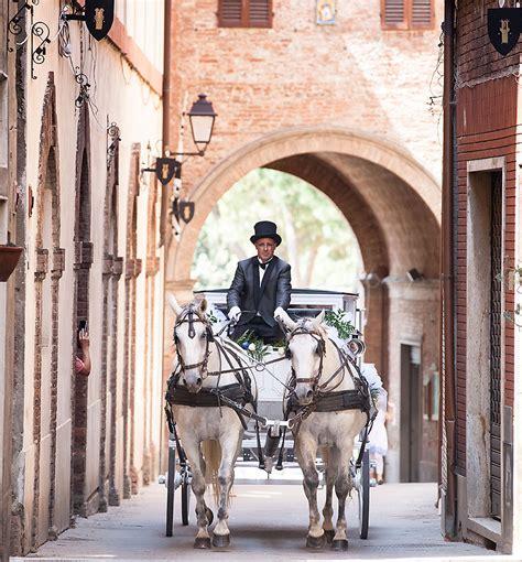 carrozze per cavalli usate carrozza per matrimoni siena toscana