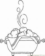 Rolls Coloring Pages Picnic Coloringpages101 Others sketch template