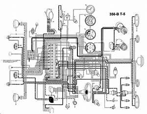 Porsche 356 Pre A Wiring Diagram