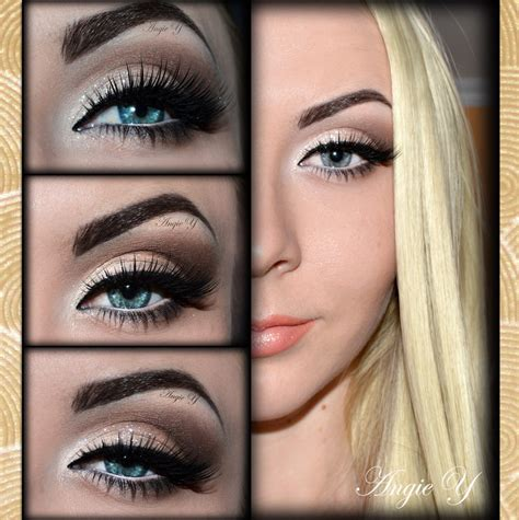Glamour Look How Create Prom Eye Makeup