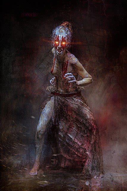 photo mystical creepy halloween horror weird surreal