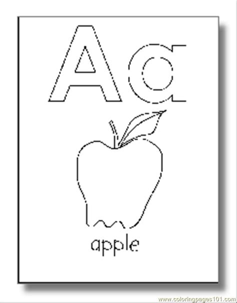 alphabet coloring pages coloring page  alphabets coloring pages coloringpagescom