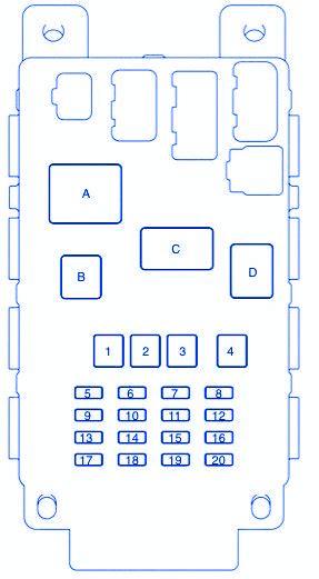 circuit panel september 2013 scion xb 2013 main fuse box block circuit breaker diagram