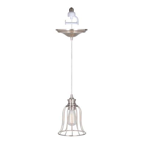 pendant light conversion kit worth home products instant pendant series 1 light