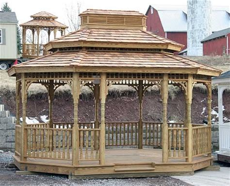 gazebo wood gazebo kits  sale alans factory outlet