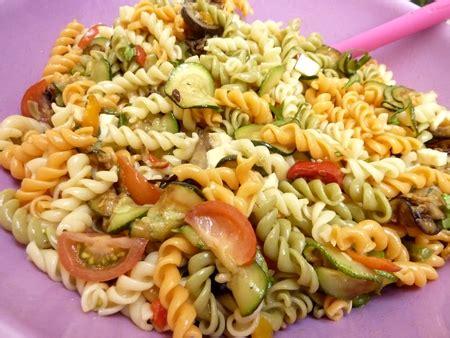 recette salade de p 226 tes aux l 233 gumes du soleil cuisinez