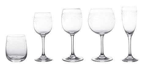 noleggio bicchieri noleggio bicchieri serie di bicchieri modello molata