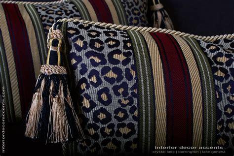 Leopardo Stripe Decorative Designer Pillows