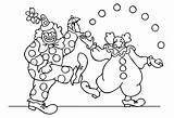 Circus Coloring Pages Children Funny Adult Printable Justcolor sketch template