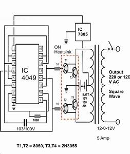I U0026 39 M Yahica  Inverter Schematic Diagram 12vdc 220vac