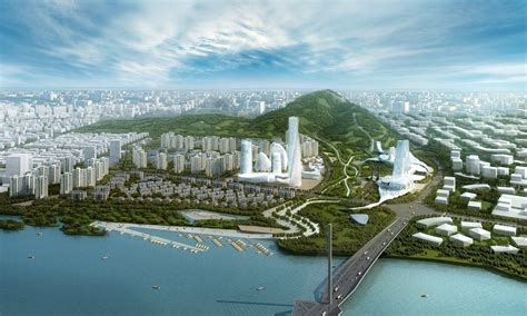 Gallery of Jilin CBD Master Planning Project / AECOM - 8