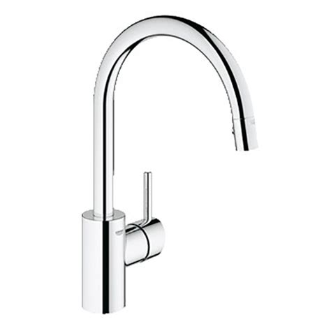 grohe concetto faucet spec sheet concetto single lever sink mixer b k