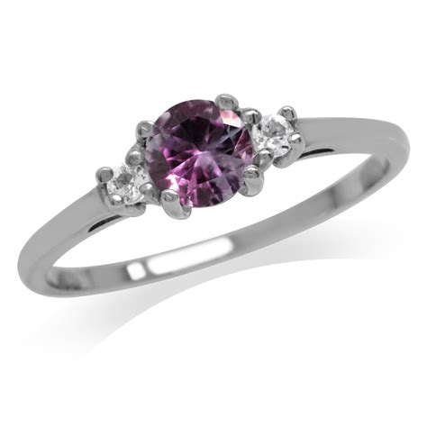 colored engagement rings 3 multi colored gemstone 925 sterling silver