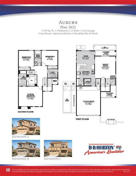 dr horton auburn floor plan