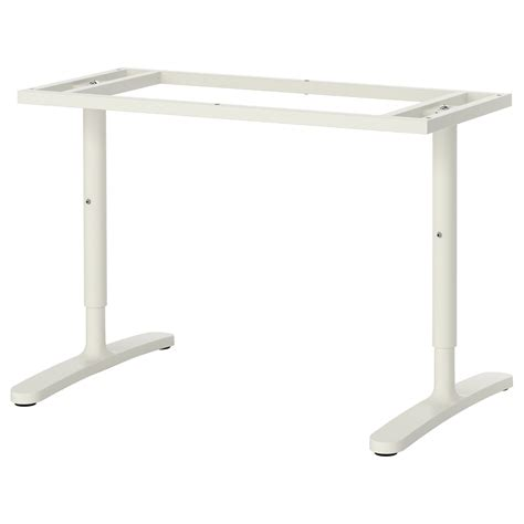 bekant underframe for table top white 120x80 cm ikea