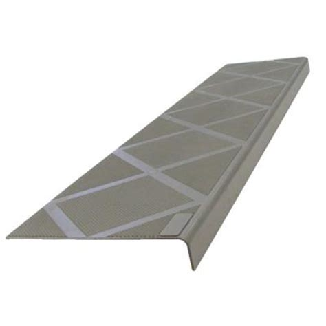 composigrip anti slip stair tread 48 in grey step cover