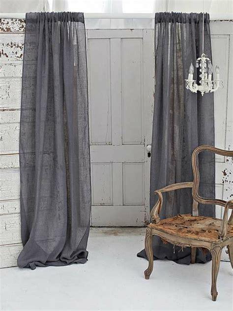 les rideaux en naturel simbolisent le confort et l 233 l 233 gance 224 la maison archzine fr