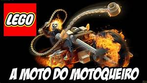 Lego Marvel Super Heroes Moto Do Motoqueiro Fantasma