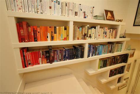 Ideas For Make Wall Mounted Bookshelves Blackbearonwater