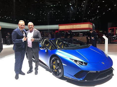 First Samples Of Lamborghini Huracan Performante Spyder