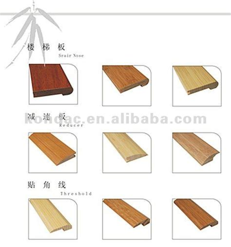 Types Of Transition Strips For Laminate Flooring by Bamboo Manufacturer Flooring Accessories Bambu Floor