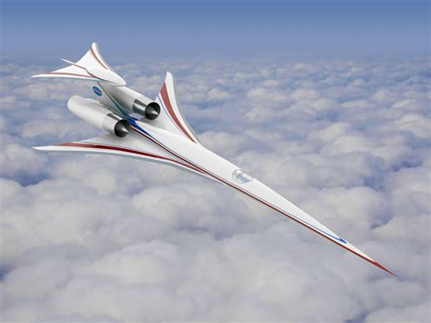 Nasa's Supersonic Passenger Jet Flies Closer To Completion
