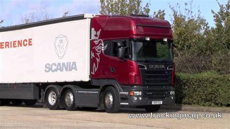 scania  uk road test youtube