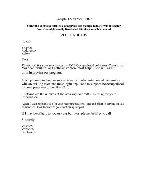 appreciation letter templates appreciation letter sample template learnhowtoloseweight net