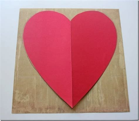 fold  cute diy envelope  heart shaped paper