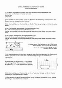 Fläche Rechteck Berechnen : 4teachers lehrproben unterrichtsentw rfe und ~ Themetempest.com Abrechnung