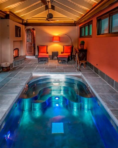 breathtaking indoor  outdoor spa design ideas