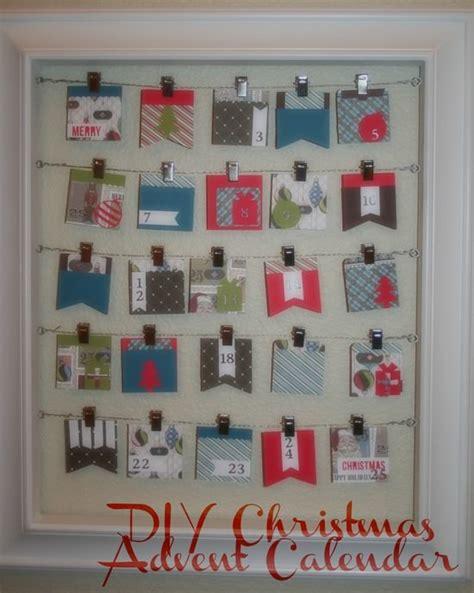 how to make advent calendar how to make a christmas advent calendar silhouette tip junkie