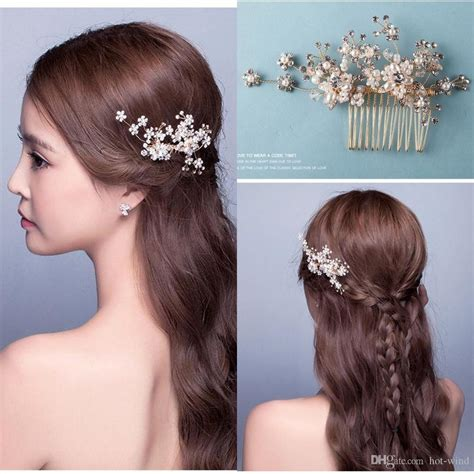 new arrival bridal accessories in stock crystal handmade