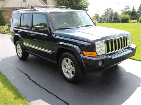 jeep limited 2006 buy used 2006 jeep commander limited 4wd fully loaded 4