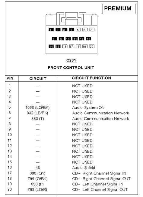 1997 Ford Explorer Jbl Stereo Wiring Diagram by Which Connector Is This Harness And Interior