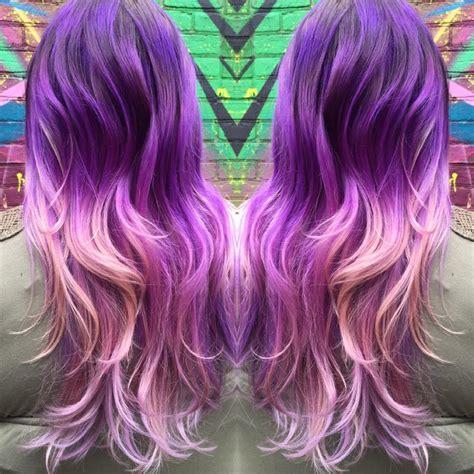 Beautiful Purple Ombre Hair Colors Hair Colors Ideas