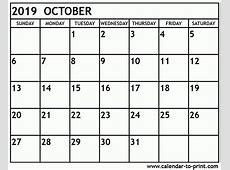 October 2019 Calendar Hong Kong Calendar Template etknlik