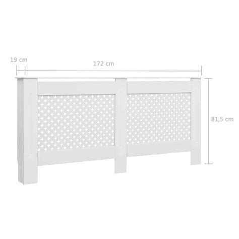 Efficient gas wall heaters or wall furnaces from zoro.com allow individual temperature control in hard to heat areas here are some important details. Modern Home Decor White MDF Radiator Cover Heating Wall Cabinet Fireplace Mantel | eBay
