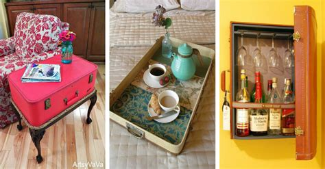 Decorating Ideas Using Suitcases by 15 Amazing Ideas For Home Decorating Using Suitcases