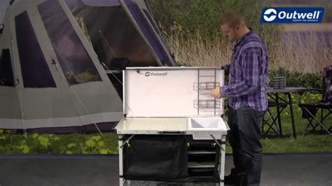 Outwell Drayton Kitchen Table  Innovative Family Camping