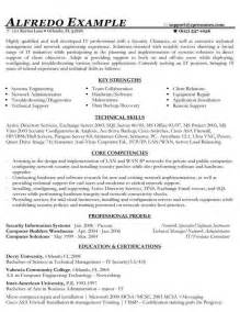 functional resume computer skills resume sles types of resume formats exles and templates