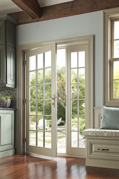 in swing patio door wood vinyl fiberglass