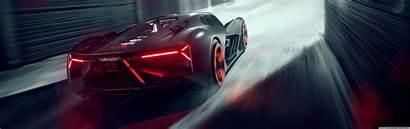 Lamborghini Terzo Millennio Rear Supercar Electric Dual