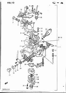 34 Suzuki Samurai Carburetor Diagram